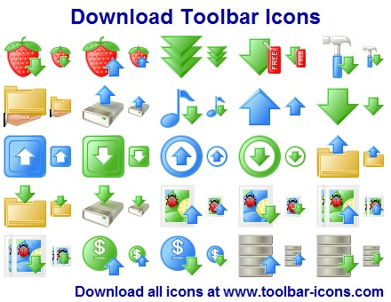 Download Toolbar Icon Set