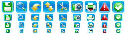 iPhone Style Icons