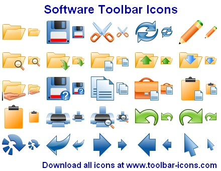 Software Toolbar Icon Library 2012.2 full